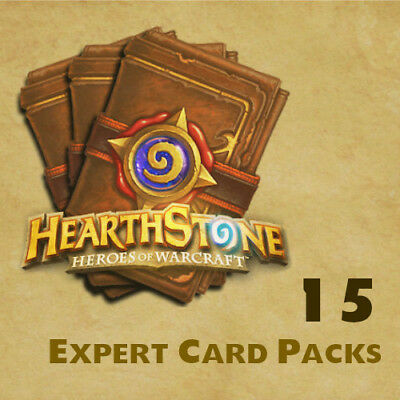 Hearthstone Expert Card (Classic) Packs [15 Packs] [All Regions]
