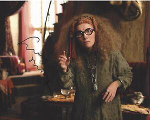 emma thompson signed harry potter sybill trelawney 8x10 photo c w