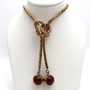 Chain Choker Gold Confetti  Gold Dangle