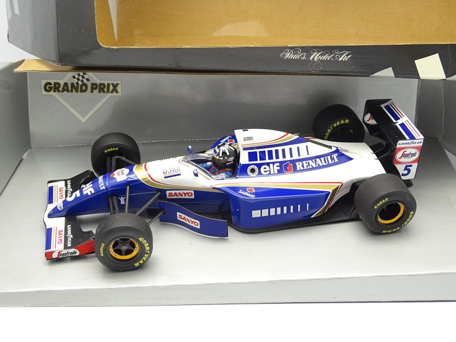 Minichamps 1 18 - F1 WILLIAMS renault FW16 FW16 FW16 hill 4a39c1