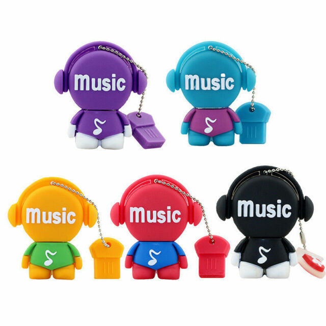Cute musicians model USB 2.0 Memory Stick Flash pen Drive 4GB 8GB 16GB 32GB AP45