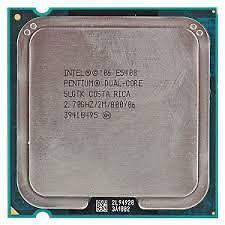 Intel Pentium Dual core Processor E5400 (2M Cache, 2.70 GHz, 800 MHz FSB) 775