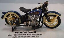 Harley Davidson Knucklehead 1936 EL Motorradmodell von Maisto im Maßstab 1:18