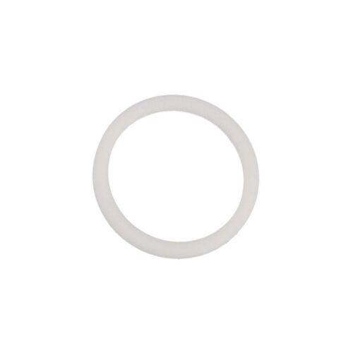 12,1mm ØAußen 16,6mm M12 weiß LAPP KABEL 2mm ØInn 5X 53801030 Dichtung PTFE D