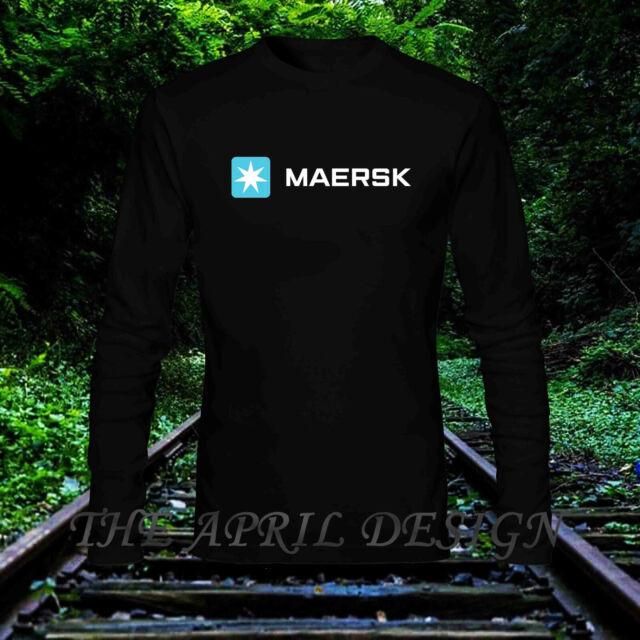 MAERSK Transport Logistics and Energy Logo T shirt