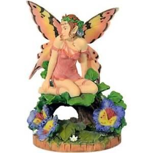 Elfe Viola Pansy by Linda Ravenscroft