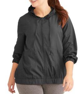 929e08463f7 NWT Elite Brand Women s Plus Active Laser Cut Hoodie Jacket Size 1X ...