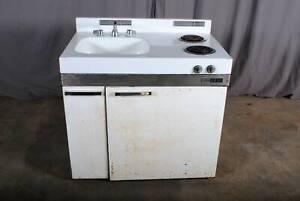 Vintage Kitchenette 1969 Sinkrefrigeratorstove Tiny House Living