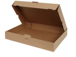 100-Maxibriefkartons-350-x-250-x-50-mm-Warensendung-Versand-Karton-Faltschachtel