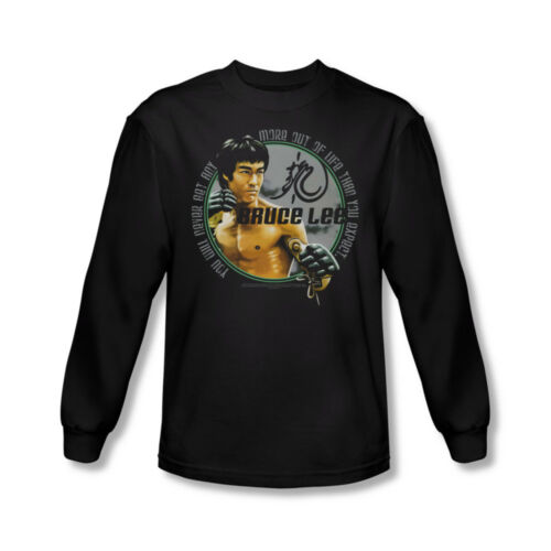 Bruce Lee Expectations Adult Long Sleeve T-Shirt Sizes S-2X New