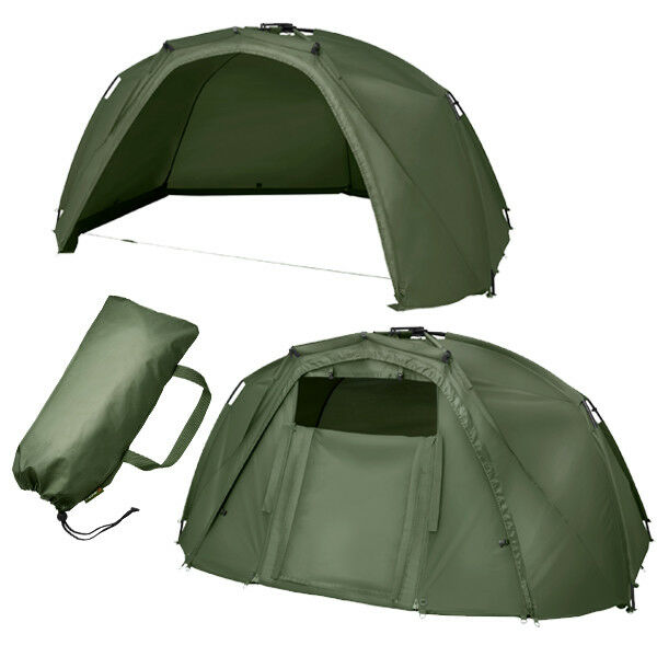 Trakker Tempest Brolly v2 and Full Infill Panel NEW Carp Fishing Shelter Bivvy