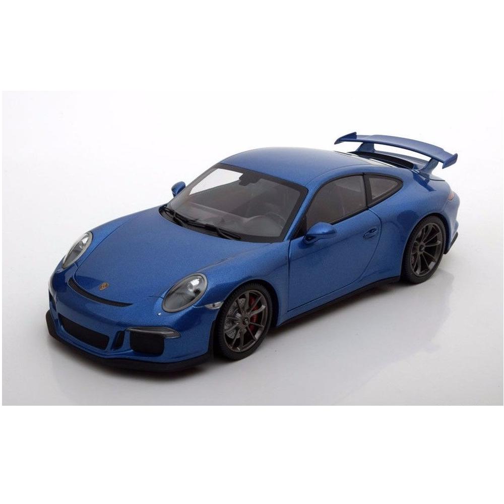 Minichamps – 1 18 Scale –  Porsche 911 GT3 – 2013 in bleu Metallic Diecast Scale  confortablement