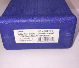 "E6013 1/8"" Stick Welding Electrode Mild Steel Rod 10lbs ..."