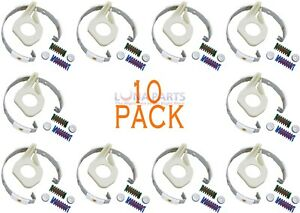 (10 Pack) 285790 Ap3094538 Ps334642 Washer Clutch Band & Lining Kit For Whirlpoo Design Professionnel