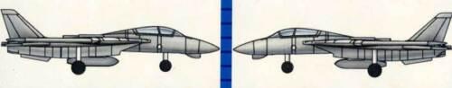 Trumpeter F-14A Tomcat 12 Flugzeuge Planes clear 1:700 Modell-Bausatz NEU kit