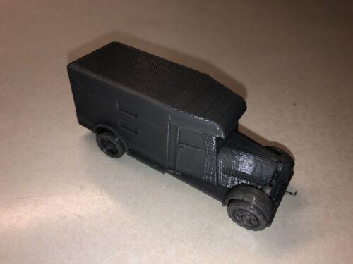 28 mm Italian Fiat Truck Enclosed 1//56 scale
