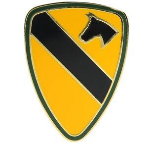 1st Premier Cavalerie Combat Service Badge Chapeau ou Épinglette H40101 D126 9ywclGTr-09153657-126201981