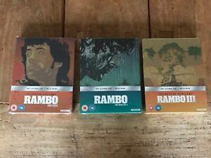 Rambo-1-2-3-4k-Blu-ray-Steelbook-Zavvi-bundle