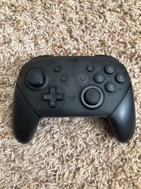 Nintendo Switch Black Official Genuine Pro Controller Wireless ONLY - Tested!