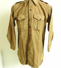 Military WW2 Officers Battle Dress Shirt Green British K.R.R.C Uniform (3743)