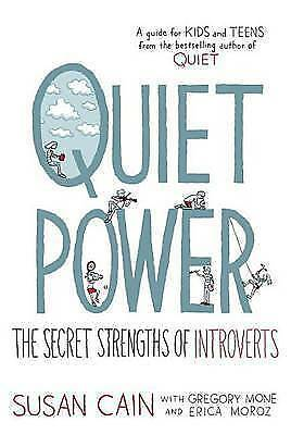 1 of 1 - Quiet Power: Secret Strengths of Introverts.. CAIN..LIKE NEW....lnf252