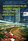 Modern Portfolio Theory and Investment Analysis by Edwin J. Elton, Martin J. Gruber, William N. Goetzmann, Stephen J. Brown (Paperback, 2014)