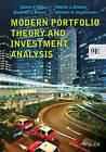Modern Portfolio Theory and Investment Analysis by Edwin J. Elton, Martin J. Gruber, William N. Goetzmann, Stephen J. Brown (Paperback, 2014)