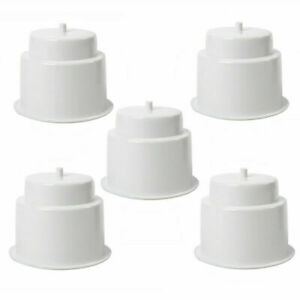2 X STANDARD SIZE RECESSED WHITE DRINK//CUP//CAN//BEER HOLDER MARINE BOAT YACHT