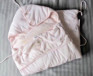 BABY-DIOR-Pink-BUNTING-BAG-BABY-NEST-SLEEPING-BAG-GUC