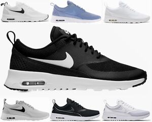 nike air max thea black and white uk