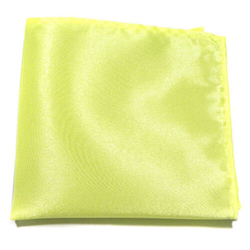 Men Satin Suit Pocket Scarf Square Handkerchief Wedding Party Dress Chest Towel