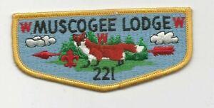 OA Lodge 70 Tsoiotsi Tsogalii S6 Flap 5th Anniversary Issued 2000 W10031
