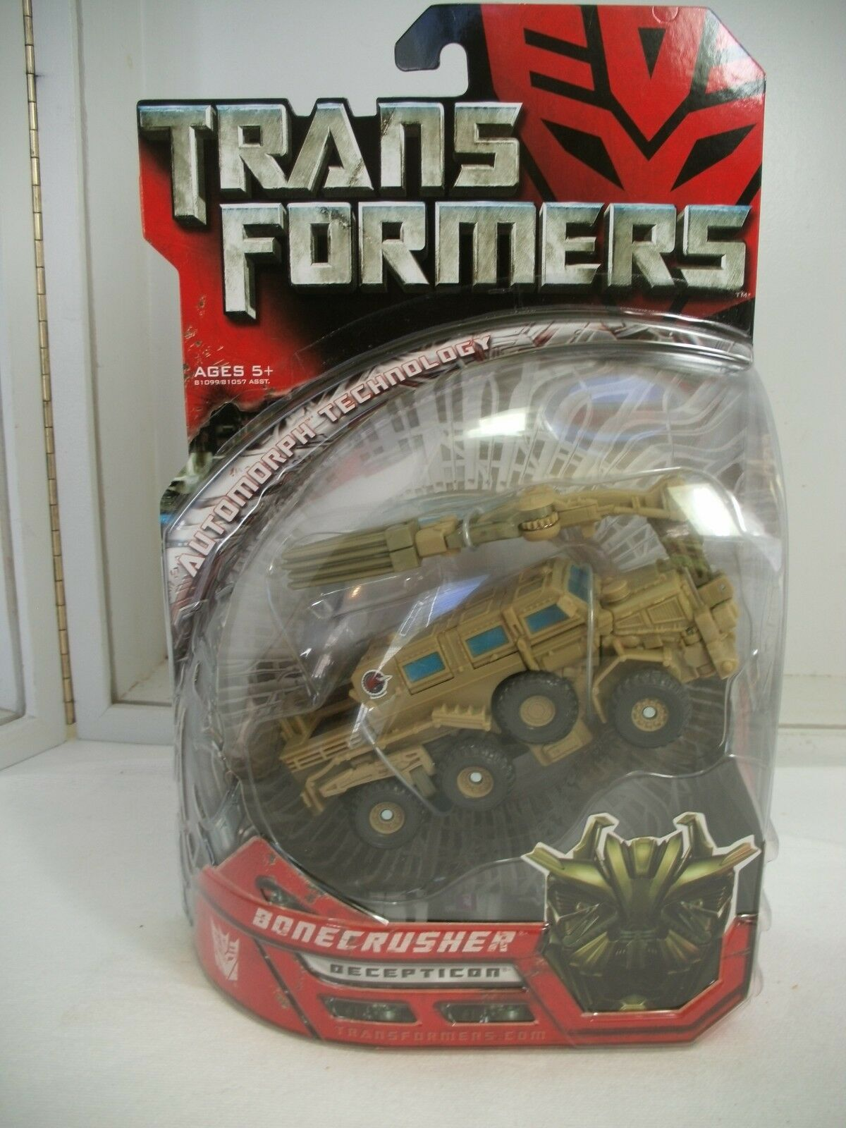 Transformers Movie Decepticon Bonecrusher de lujo clase Figura De Acción
