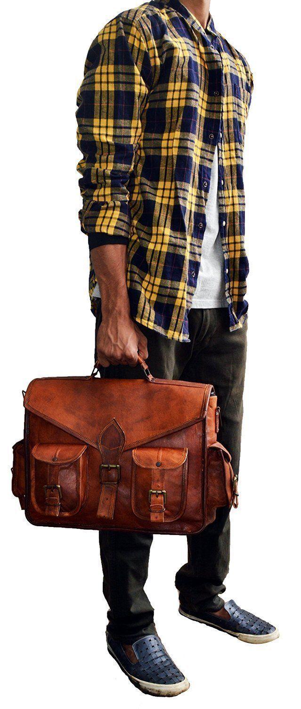 Leder Aktentasche Arbeitstasche Schultertasche UNI BAG BAG BAG Messenger Neu | Abgabepreis  d5b10d