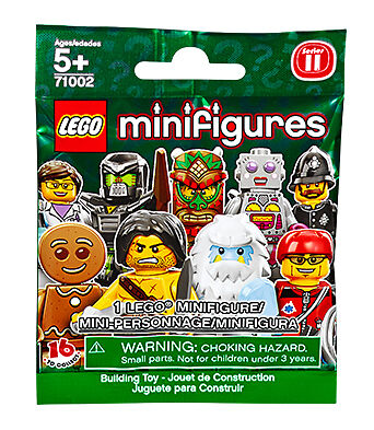 NEW LEGO CMF Minifigures Series 11 Sealed in Bag