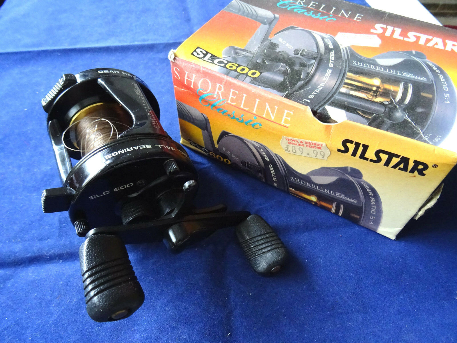 SUPER BOXED SILSTAR SHORELINE CLASSSIC SLC600 MULTIPLIER SEA REEL
