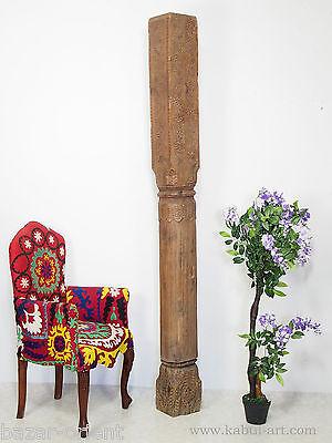 antik orient Massiv Holz  Säule afghanistan Pakistan Swat wooden Pillar column E
