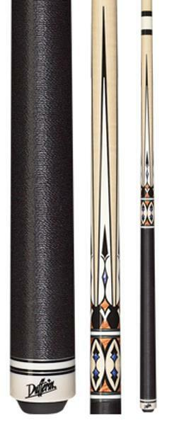 Midnight Black Canadian Maple Pool Cue No Wrap NEW Dufferin D-233 D233