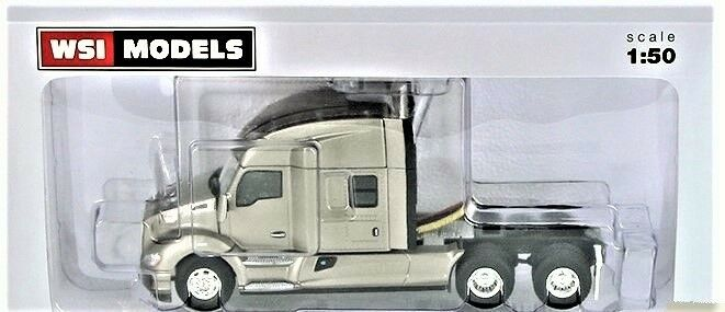 NEW WSI 33-2028 Kenworth T680 3-Axle tracteur à mi-haut-Argent 1 50 Comme neuf IN BOX