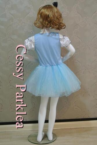 Alice Girl Alice in Wonderland Disney Cartoon Character Costume Headpiece S-XL