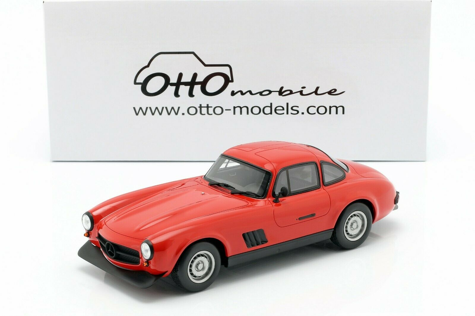 MERCEDES-BENZ AMG 300 SL rot - 1 18 - OTTO