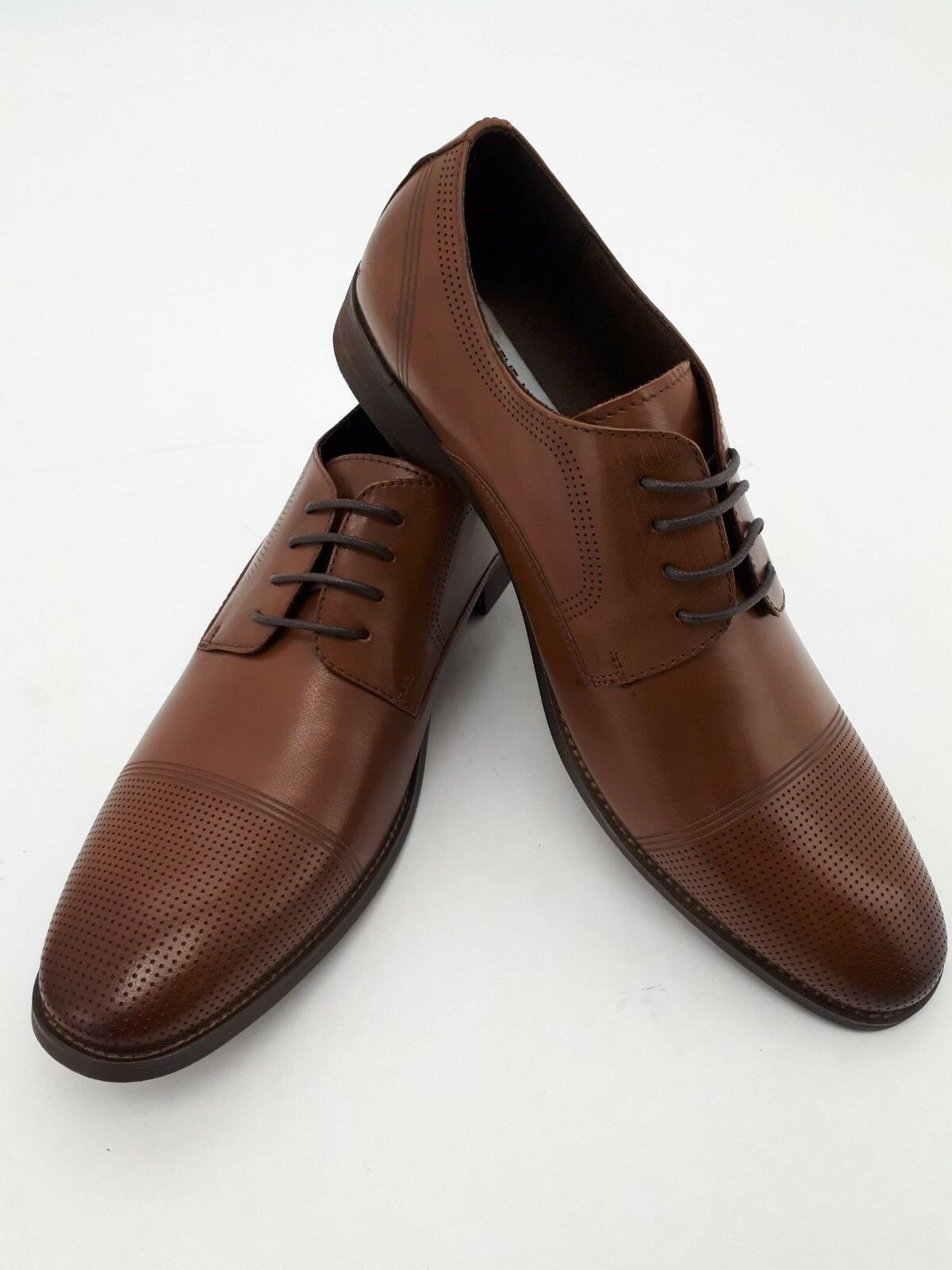 Steve Madden Men's Dress shoes  Cayhill I Tan I Size 8.5 (FFG17)