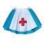 Girls NURSE Dance Costume HOSPITAL OUTFIT Fancy Dress Party Skirt UK MADE