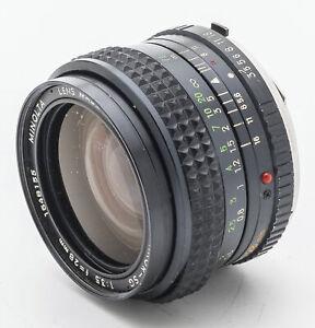 Minolta-MC-W-Rokkor-SG-W-Rokkor-SG-Rokkor-28mm-28-mm-Lens-1-3-5-3-5-lesen