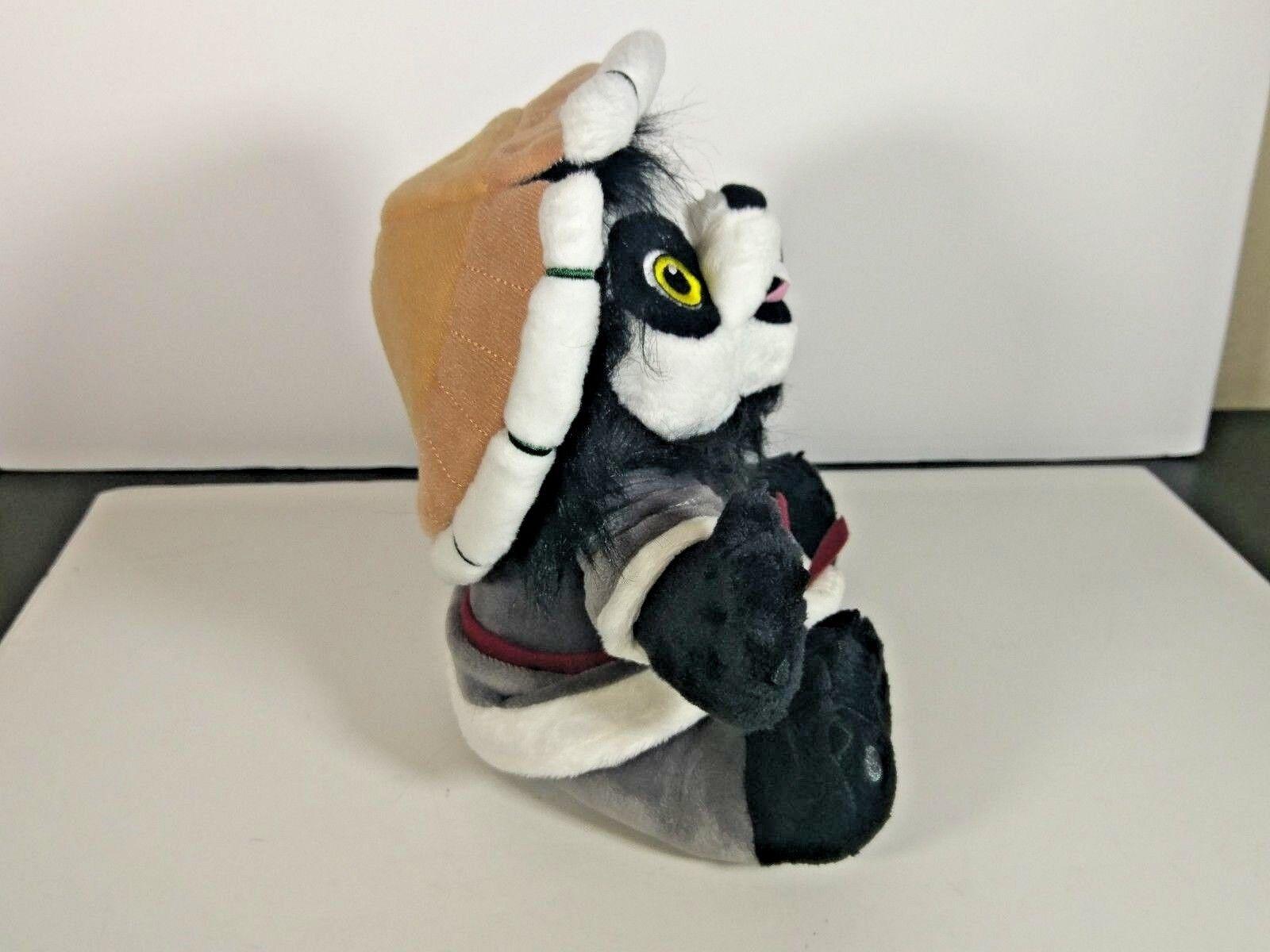 Blizzard Lil/' Chen Plush Pandaren Cub World of Warcraft Panda Stuffed Animal NEW