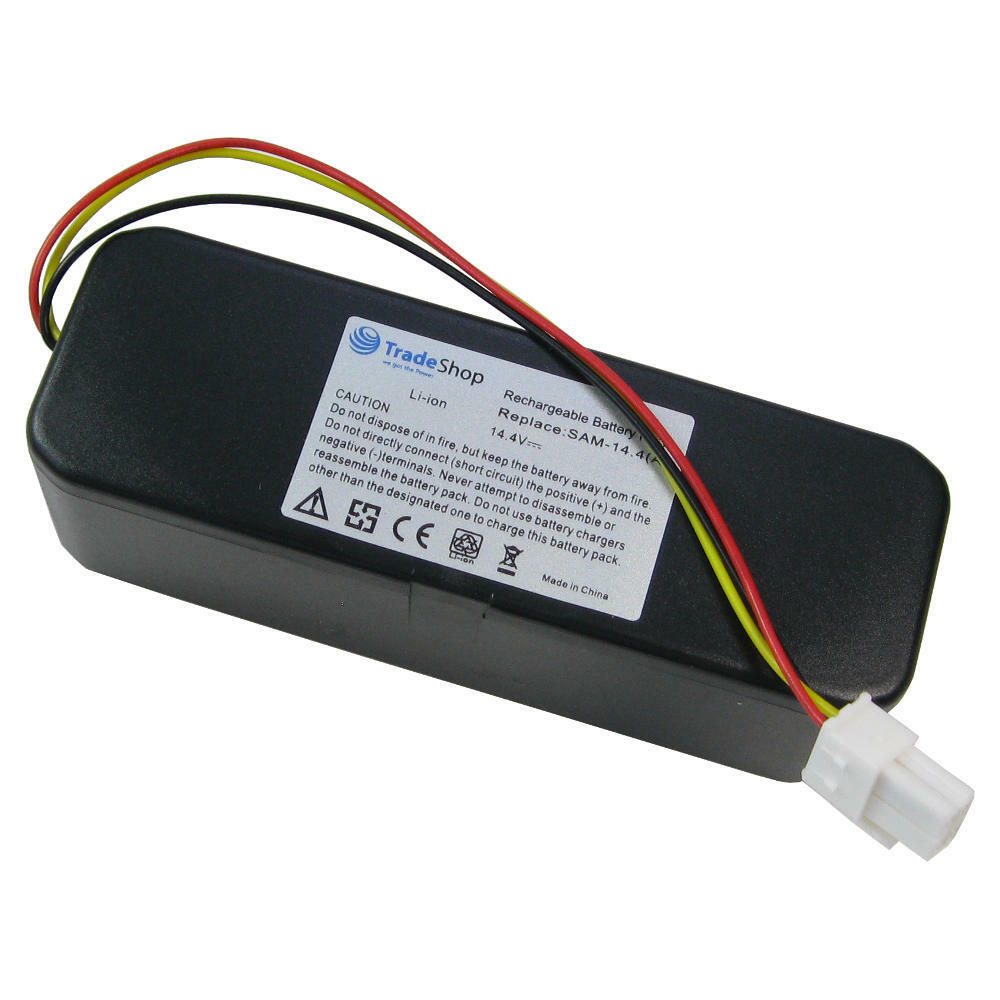 2x Li-Ion Akku 14,4V 4500mAh für Samsung Navibot SR-8840 SR-8845 SR-8855 SR8844
