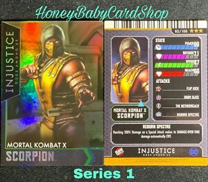 Injustice Arcade Series 1 Out of Print Card 21 Green Arrow Holofoil