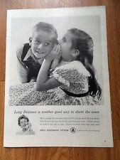 1960 Bell Telephone Ad 1960 Chryslere Imperial Dodge Dart De Soto Valiant Ad