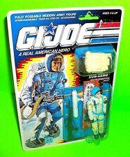 GI JOE SUB-ZERO Action Figure A Real American Hero ARAH 1989 Backpack Ammo Belt