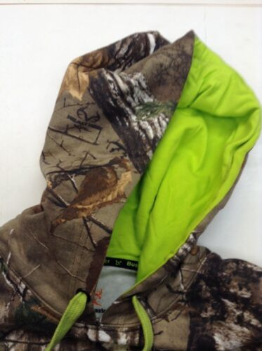 """NWT /""""BUSHMASTER/"""" LOGO CAMOUFLAGE PERFORMANCE HOODIE-CPFC SAFETY REGS"""